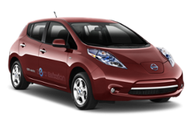 NISSAN LEAF ELECTRIC AUTO