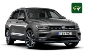 VW TIGUAN GUARANTEED